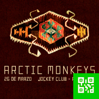 ARCTIC MONKEYS JOCKEY CLUB PARCELA - H - SANTIAGO DE SURCO - LIMA