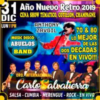 AÑO NUEVO RETRO 2019 (CORCHO LIBRE) ANTA FUSION - PUEBLO LIBRE (MAGDAL - LIMA