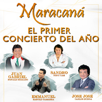 PRIMER CONCIERTO DEL AÑO MARACANA CENTRO DE CONVENCIONES - LIMA