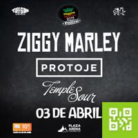 Ziggy Marley y Protoje en Reggae Sessions PLAZA ARENA - LIMA