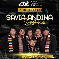 SAVIA ANDINA SINFONICO GRAN TEATRO NACIONAL - SAN BORJA - LIMA