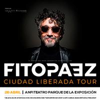 FITO PAEZ TOUR CIUDAD LIBERADA ANFITEATRO PARQUE DE LA EXPOSICION - LIMA