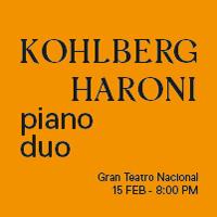 CONCIERTO A DOS PIANOS KOHLBERG - HARONI DUO GRAN TEATRO NACIONAL - SAN BORJA - LIMA
