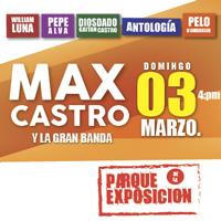 MAX CASTRO Y LA GRAN BANDA PARQUE DE LA EXPOSICION - LIMA