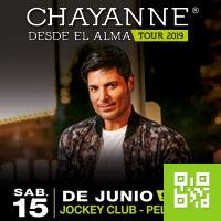 CHAYANNE - DESDE EL ALMA TOUR JOCKEY CLUB - LA PELOUSSE - SANTIAGO DE SURCO - LIMA