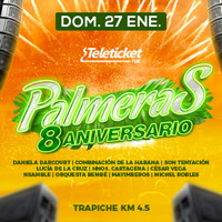 8° ANIVERSARIO DE PALMERAS - TRAPICHE PISCINA LAS PALMERAS - TRAPICHE - COMAS - LIMA