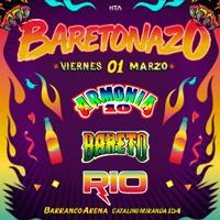 BARETONAZO BARETO ARMONÍA 10 Y RIO BARRANCO ARENA - BARRANCO - LIMA