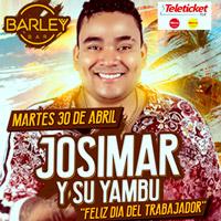 JOSIMAR Y SU YAMBU - FELIZ DIA DEL TRABAJADOR BARLEY BAR - PUEBLO LIBRE (MAGDAL - LIMA