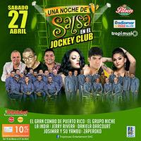 UNA NOCHE DE SALSA EN EL JOCKEY JOCKEY CLUB - SANTIAGO DE SURCO - LIMA