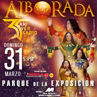 ALBORADA 35 AÑOS ANFITEATRO DEL PARQUE DE LA EXPOSICION - LIMA