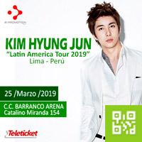 KIM HYUNG JUN LATIN AMERICA TOUR 2019 C.C. BARRANCO ARENA - BARRANCO - LIMA