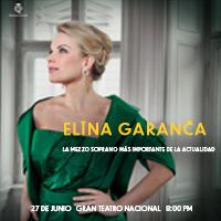 ELINA GARANCA GRAN TEATRO NACIONAL - SAN BORJA - LIMA