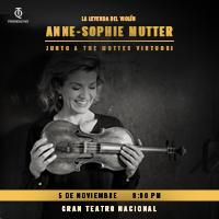 ANNE SOPHIE MUTTER GRAN TEATRO NACIONAL - SAN BORJA - LIMA