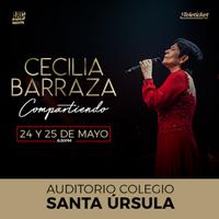 CECILIA BARRAZA - COMPARTIENDO AUDITORIO SANTA URSULA - SAN ISIDRO - LIMA
