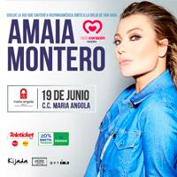 AMAIA MONTERO EN VIVO C.C MARIA ANGOLA - MIRAFLORES - LIMA