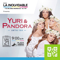 YURI Y PANDORA - TOUR JUNTITAS PLAZA ARENA - SANTIAGO DE SURCO - LIMA