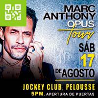 MARC ANTHONY EN CONCIERTO OPUS TOUR PELOUSSE DEL JOCKEY CLUB DEL PERÚ - SANTIAGO DE SURCO - LIMA