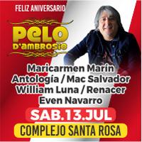 FELIZ ANIVERSARIO PELO DE AMBROSIO COMPLEJO SANTA ROSA - SANTA ANITA - LIMA