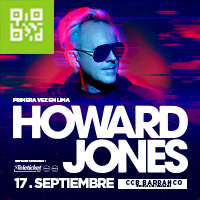 HOWARD JONES EN LIMA C.C. BARRANCO - BARRANCO - LIMA