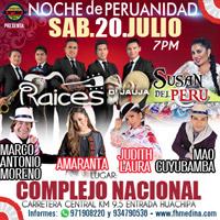 NOCHE DE PERUANIDAD COMPLEJO NACIONAL - LIMA