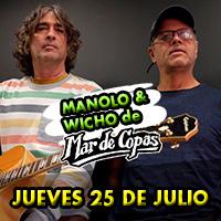 MANOLO Y WICHO DE MAR DE COPAS LA ESTACIÓN DE BARRANCO - BARRANCO - LIMA