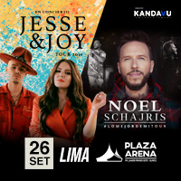JESSE Y JOY - NOEL SCHAJRIS PLAZA ARENA - SANTIAGO DE SURCO - LIMA