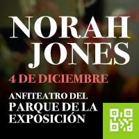 NORAH JONES ANFITEATRO DEL PARQUE DE LA EXPOSICION - LIMA