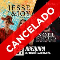 JESSE Y JOY - NOEL SCHAJRIS - AQP JARDIN DE LA CERVEZA - AREQUIPA