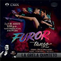 FUROR TANGO TEATRO MUNICIPAL DE LIMA - LIMA