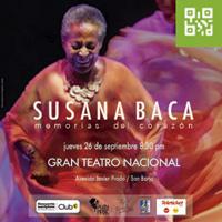 SUSANA BACA-MEMORIAS DEL CORAZON EN CONCIERTO GRAN TEATRO NACIONAL - SAN BORJA - LIMA