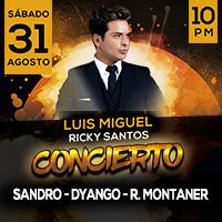 LUIS MIGUEL Y RICKY MARTIN EN CONCIERTO - YO SOY BIANCA ARENA CENTRO DE CONVENCIONES - BARRANCO - LIMA