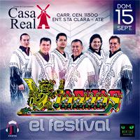 LOS KJARKAS - EL FESTIVAL CASA REAL - ATE - LIMA