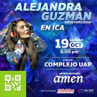 ALEJANDRA GUZMAN EN ICA TOUR 2019 COMPLEJO UNIVERSIDAD ALAS PERUANAS - ICA - ICA