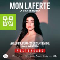 MON LAFERTE LA GIRA DE NORMA MALL AVENTURA - AREQUIPA