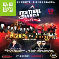 FESTIVAL BIANCA SALSA CENTRO DE CONVENCIONES BIANCA - BARRANCO - LIMA