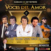 VOCES DEL AMOR (SEP2019) EL ROSEDAL - SANTIAGO DE SURCO - LIMA