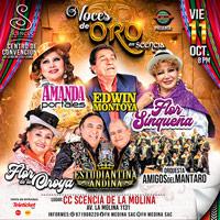 VOCES DE ORO DEL PERU C.C SCENCIA DE LA MOLINA - LA MOLINA - LIMA