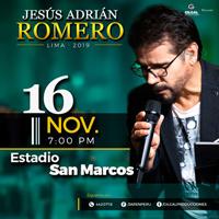 JESUS ADRIAN ROMERO EN  CONCIERTO ESTADIO SAN MARCOS - LIMA