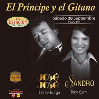 TRIBUTO A JOSE JOSE Y SANDRO EL PRÍNCIPE Y EL GITA ESTACIÓN DE BARRANCO - BARRANCO - LIMA