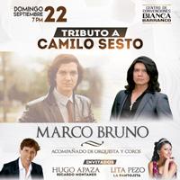 TRIBUTO A CAMILO SESTO BIANCA CENTRO DE CONVENCIONES - BARRANCO - LIMA
