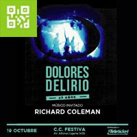 DOLORES DELIRIO 25 AÑOS CENTRO DE CONVENCIONES FESTIVA - LIMA