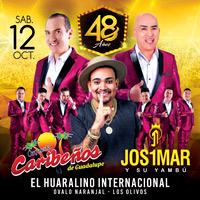 48 ANIVERSARIO CARIBEÑOS DE GUADALUPE - EL REENC HUARALINO INTERNACIONAL - LIMA