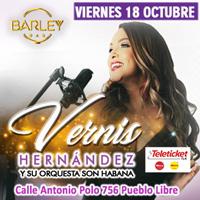 VERNIS HERNÁNDEZ Y SU ORQUESTA SON HABANA BARLEY BAR - PUEBLO LIBRE (MAGDAL - LIMA