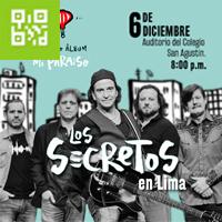 LOS SECRETOS LIMA AUDITORIO COLEGIO SAN AGUSTIN - LIMA
