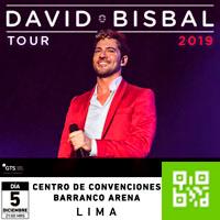 DAVID BISBAL - GIRA 2019 CENTRO DE CONVENCIONES BARRANCO ARENA - BARRANCO - LIMA