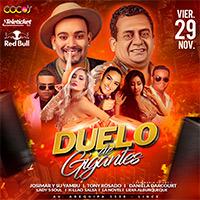 DUELO DE GIGANTES COCOS - LINCE - LIMA