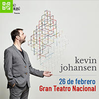 KEVIN JOHANSEN - ALGO RITMOS GRAN TEATRO NACIONAL - SAN BORJA - LIMA