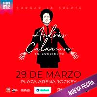 ANDRES CALAMARO GIRA CARGAR LA SUERTE 2020 PLAZA ARENA - JOCKEY - SANTIAGO DE SURCO - LIMA