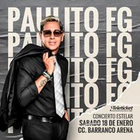 PAULITO FG Y SU ELITE EN CONCIERTO CENTRO DE CONVENCIONES BARRANCO ARENA - BARRANCO - LIMA