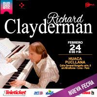 RICHARD CLAYDERMAN EXPLANADA DE LA HUACA PUCLLANA - MIRAFLORES - LIMA